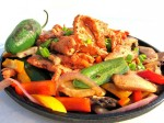 Picaringa™ marinated Chicken and Bell Pepper fajitas